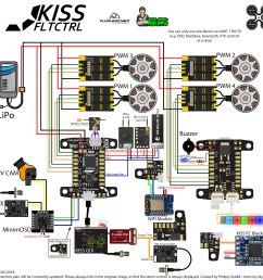 kiss fc connection diagram kiss keep it super simple flyduino fcs escs [ 2000 x 1925 Pixel ]