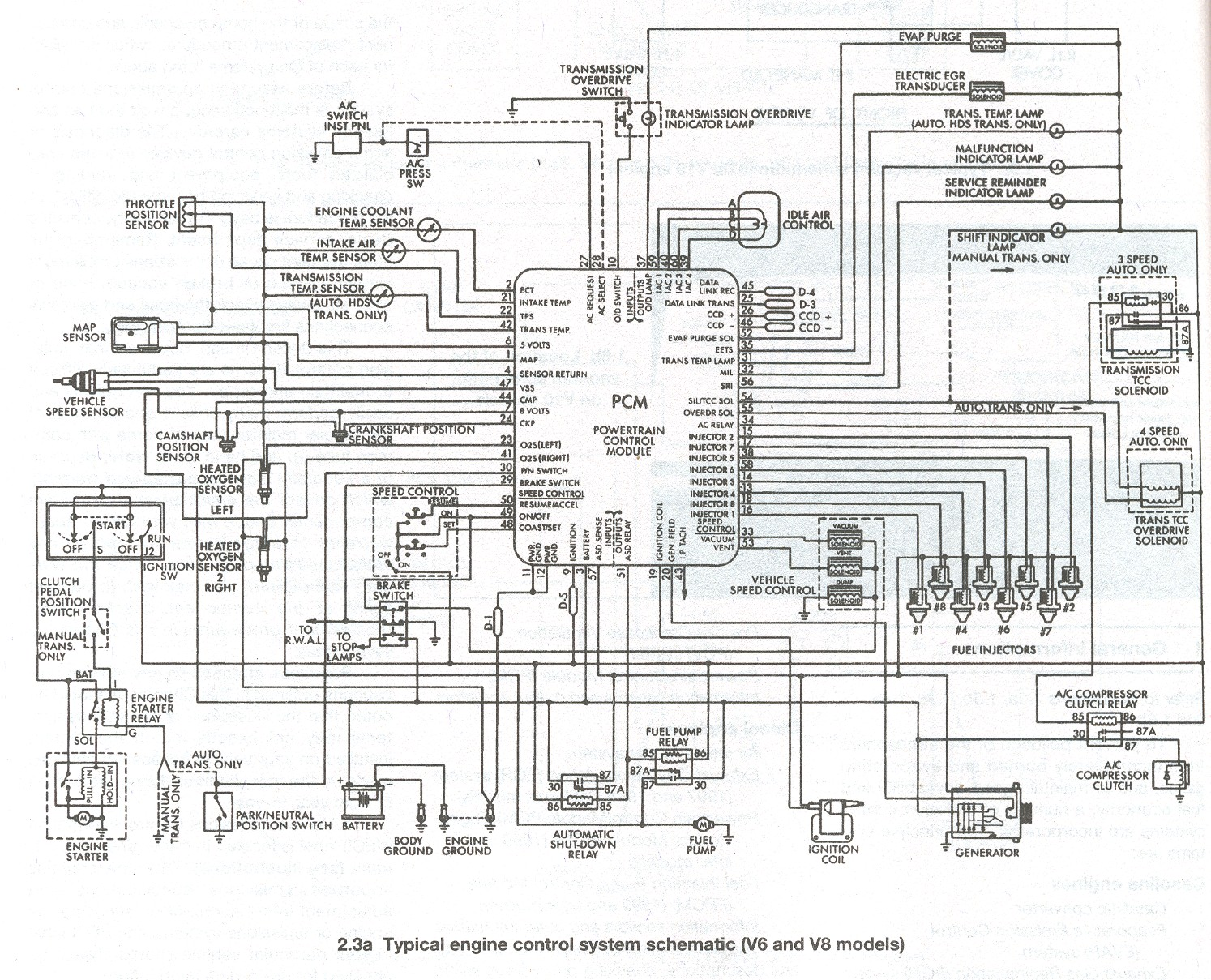 ignition schematic on a 1975 dodge dart