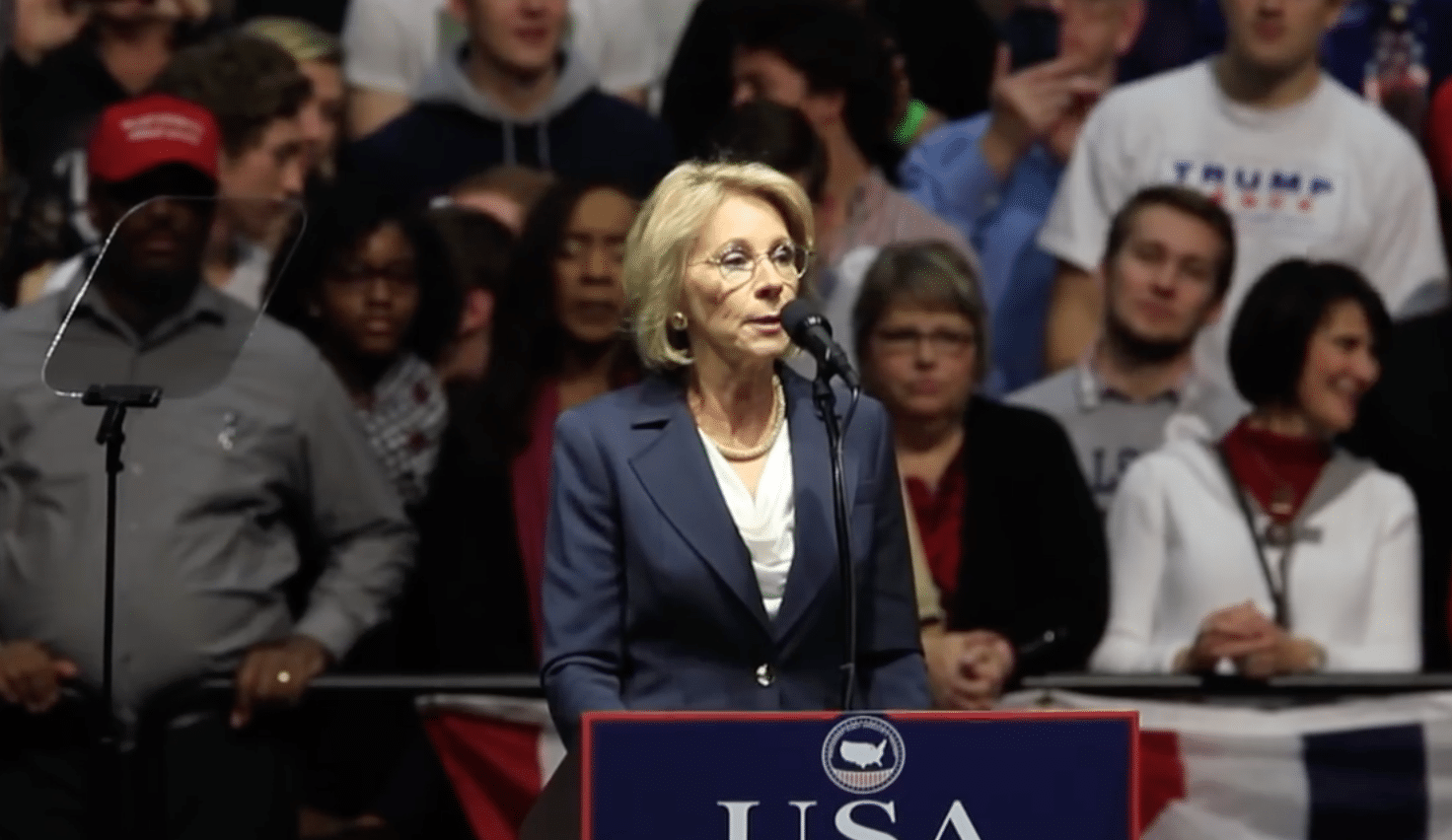 Mention Of Common Core In Devos' Opening