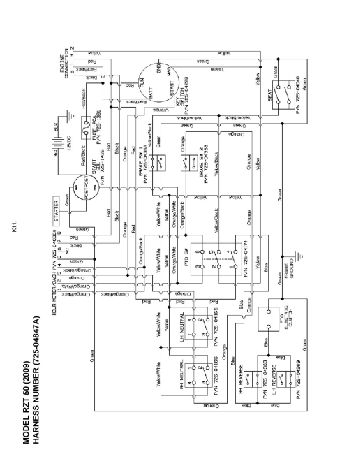 small resolution of rzt 50 cub cadet wiring diagram wiring diagram blog 2008 mtd rzt 50 wiring diagram
