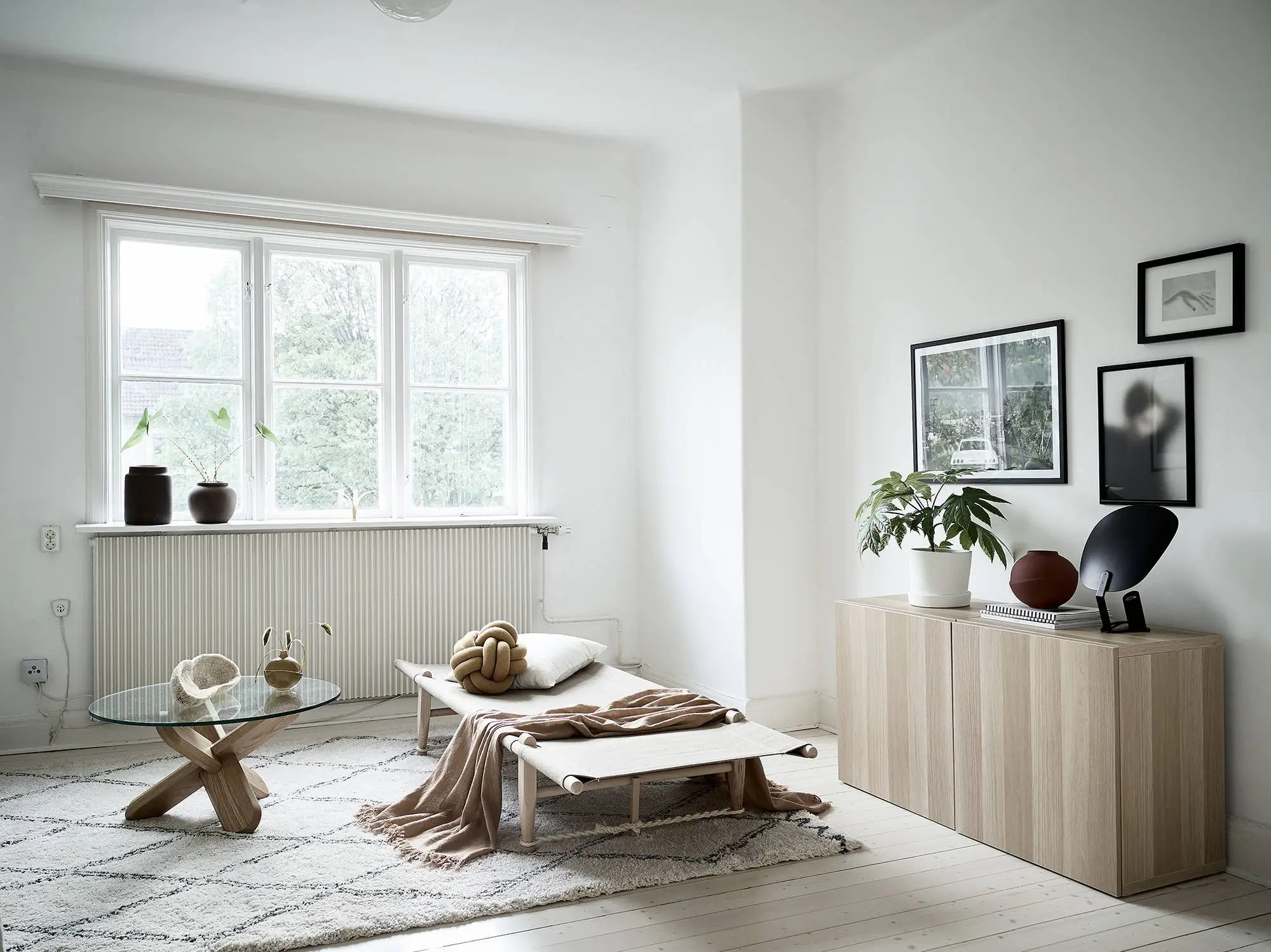 Minimal living room in natural colors  COCO LAPINE