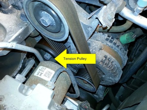 small resolution of serpentine belt replacement 2007 honda civic si the workbench 2007 honda civic si serpentine belt replacement 2007 honda civic si belt diagram