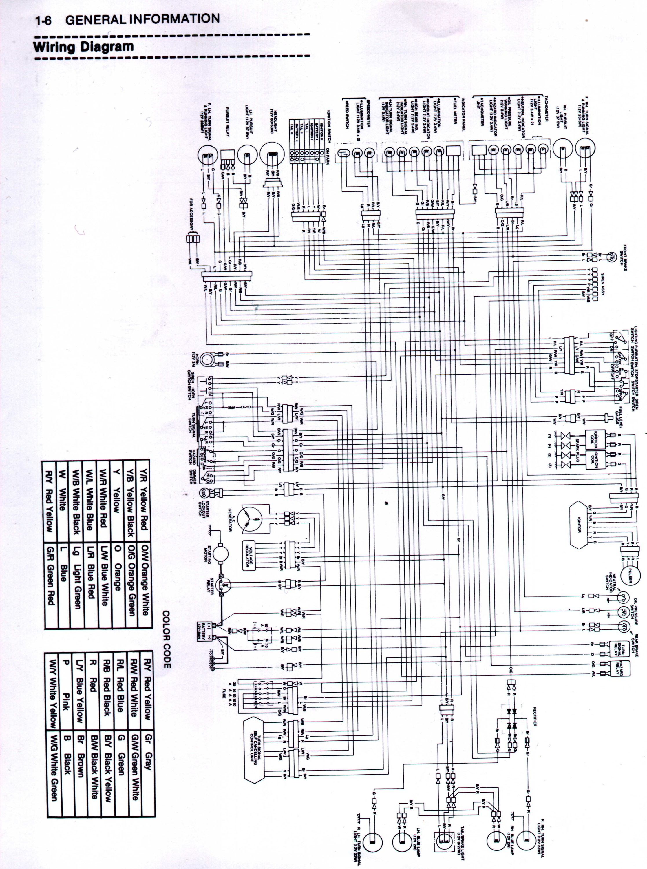 medium resolution of 1982 kdx 400 wire diagram wiring library diagram a4 led circuit diagrams 1982 kdx 400 wire