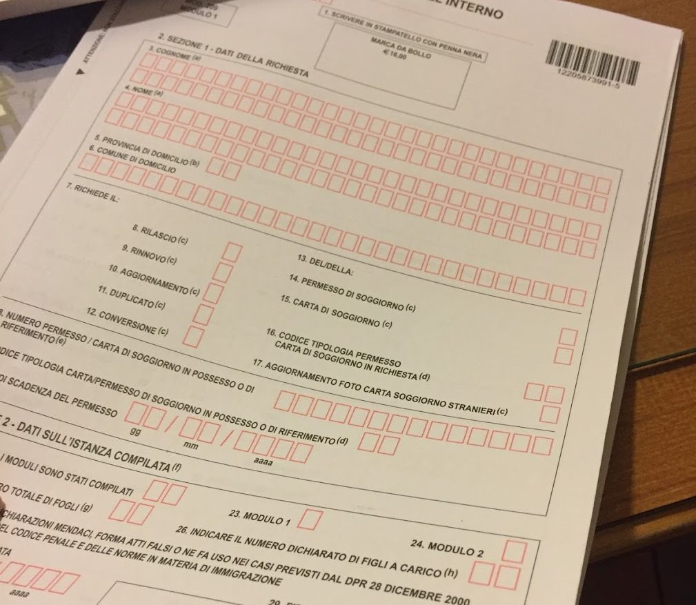 How to Fill Out Your Permesso Di Soggiorno A StepbyStep Guide  Expat Alexa