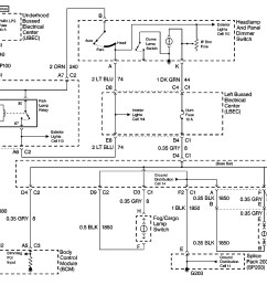 99 chevy 2500 pick up headlight switch wiring diagram [ 2404 x 1718 Pixel ]