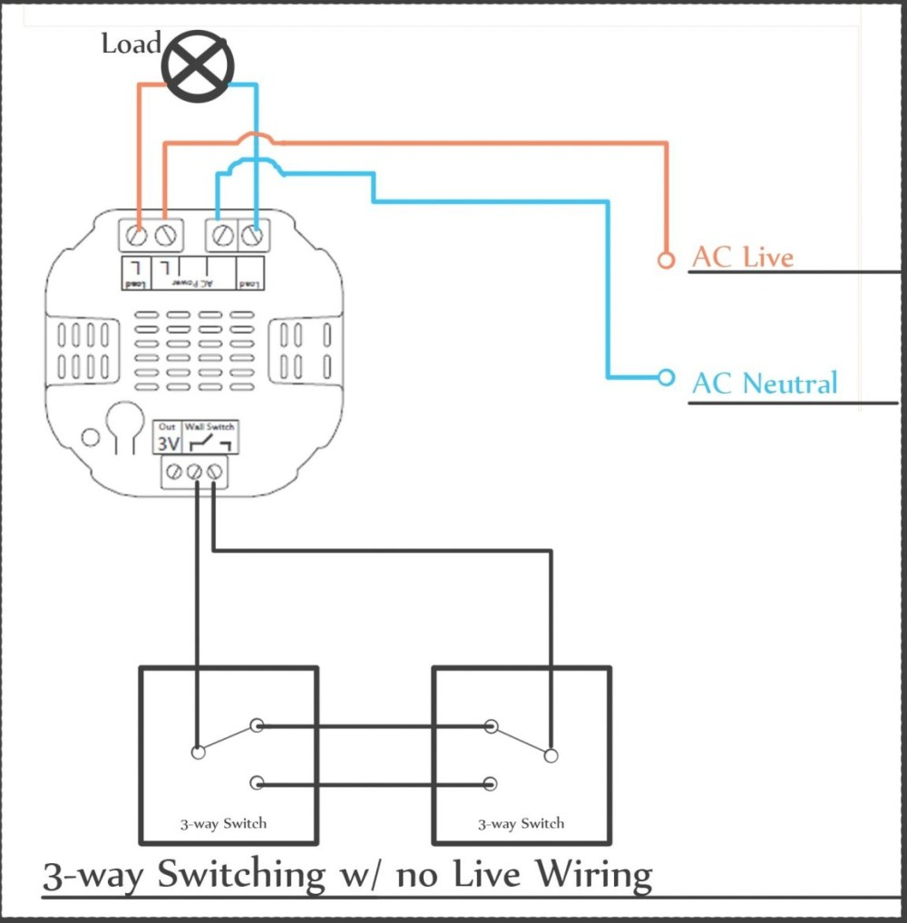medium resolution of 3 way switch wiring a switched receptacle and light