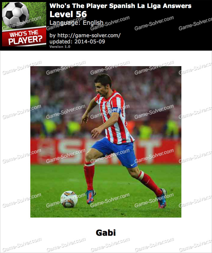 Who S The Player Spanish La Liga Level 56 Game Solver