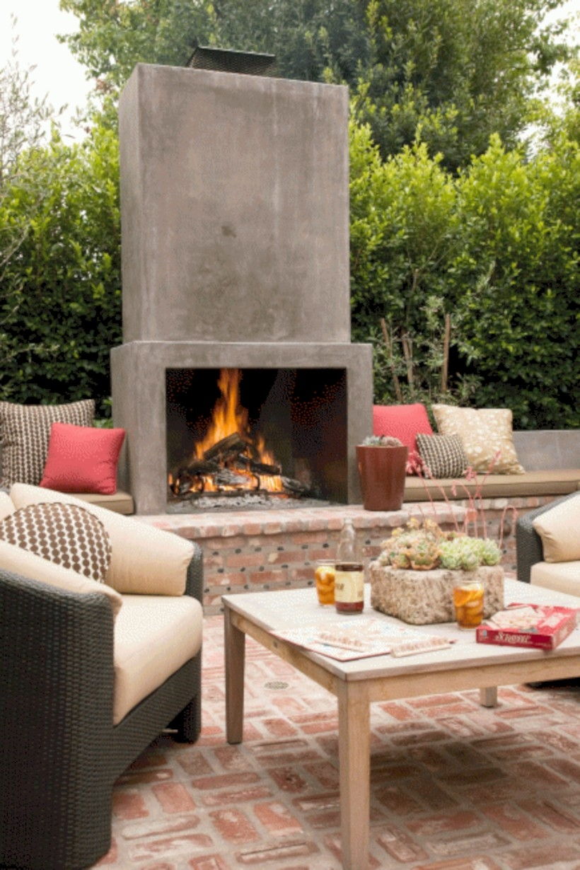 Diy Outdoor Fireplace And Fire Pit Ideas