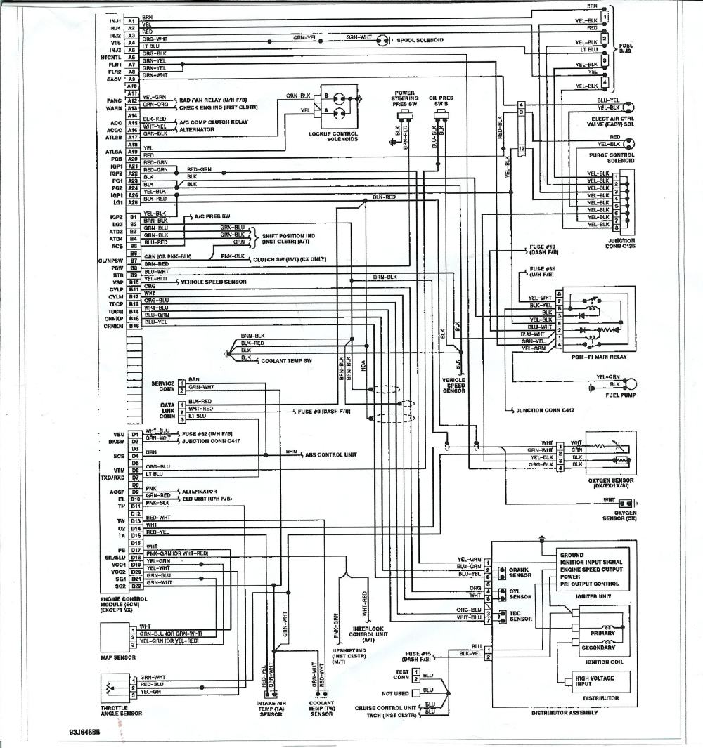 medium resolution of 1990 civic cluster wiring diagram besides 92 95 civic wiring diagram 1990 civic cluster wiring diagram