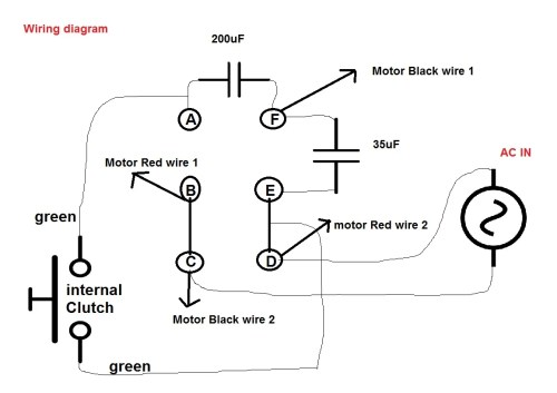 small resolution of capacitor motor diagrams connection