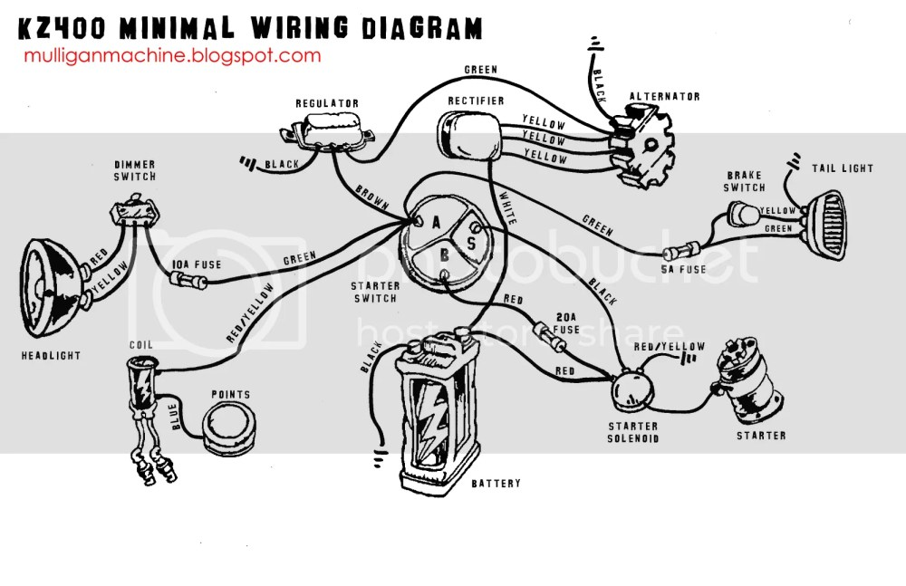 medium resolution of kz400 wiring diagram wiring diagram database k z 400 wiring diagram