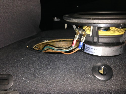 small resolution of bmw e46 sedan speaker replacement rear deck 3