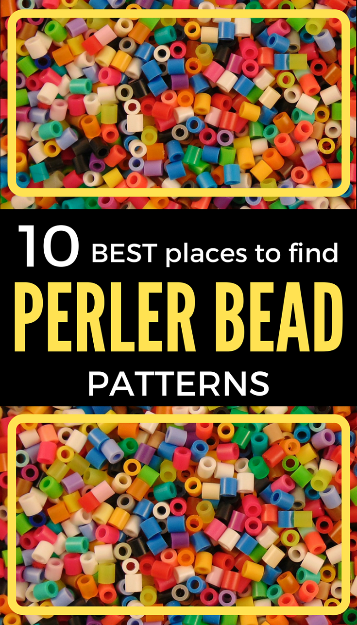 hight resolution of perler bead patterns