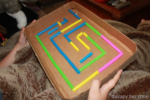 Cardboard Marble Maze  Lesson Plans