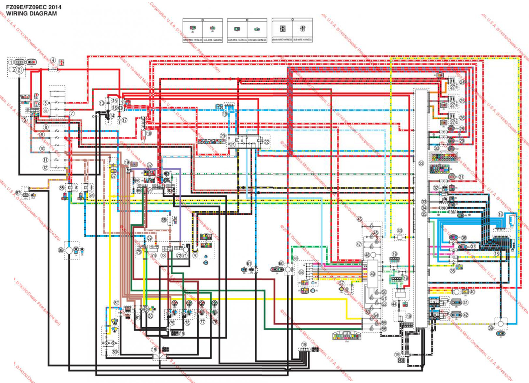 hight resolution of yamaha r wiring diagram image wiring yamaha r6 ignition wiring diagram jodebal com on 1999 yamaha
