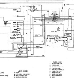 starter switch wiring diagram for kubota l175 [ 1406 x 851 Pixel ]
