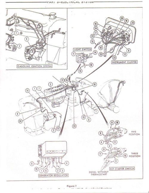 small resolution of ford 555c wire harness