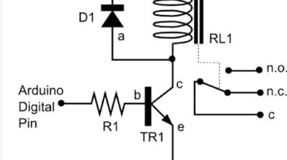relay board diagram