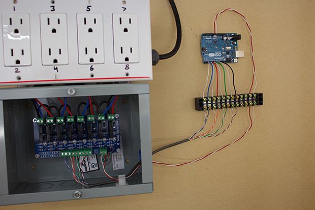 Code 3 Flasher Wiring Diagram Use Arduino And Relays To Control Ac Lights And Appliances