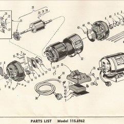 Parts Of A Drill Bit Diagram Horn Relay Wiring Craftsman 103 23141 100 Series Press Restoration