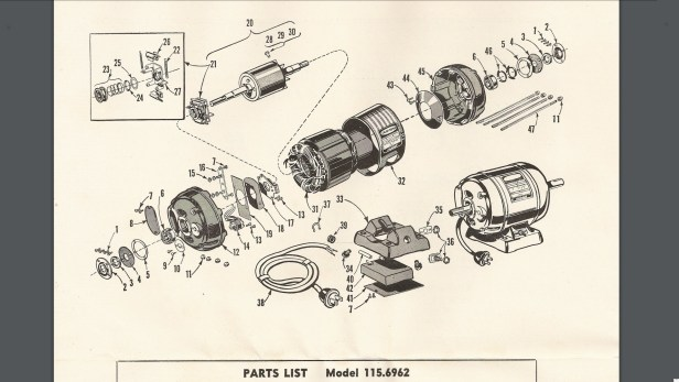 Drill Press Diagram And Parts List For Craftsman Drillparts Model