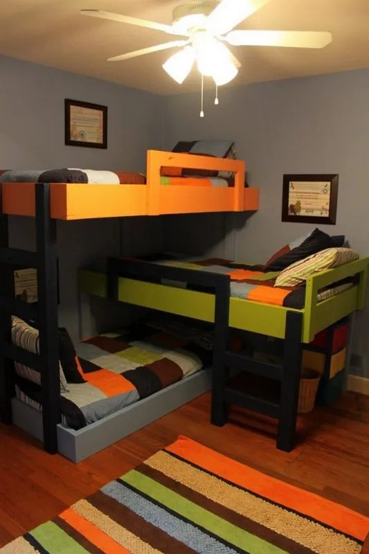 31 DIY Bunk Bed Plans  Ideas that Will Save a Lot of
