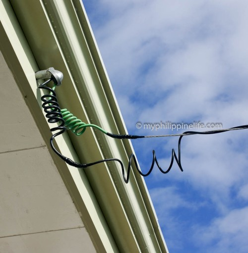 small resolution of duplex cable from meter to weather head