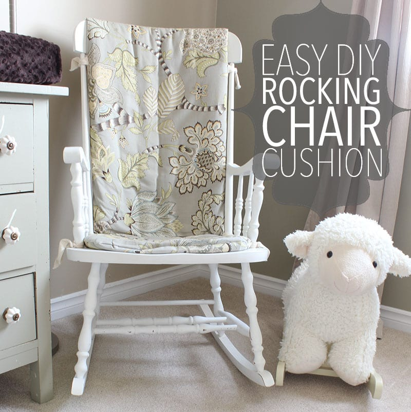 oversized rocking chair cushions wing slipcovers canada diy cushion how to make an easy