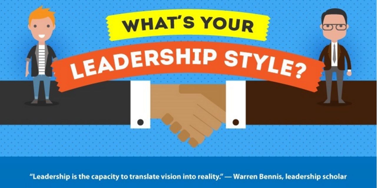 What S Your Leadership Style Infographic Paul Sohn