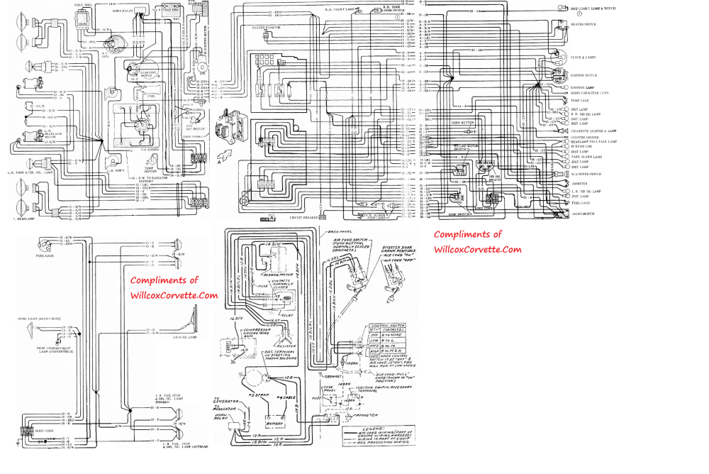 medium resolution of 1963 corvette wiring diagram wiring diagram database 1963 corvette wire harness diagram