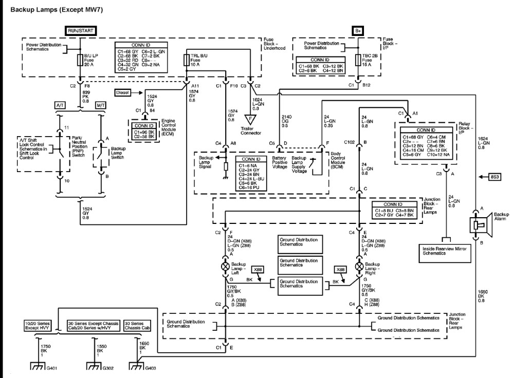 medium resolution of gmc sierra wiring schematic