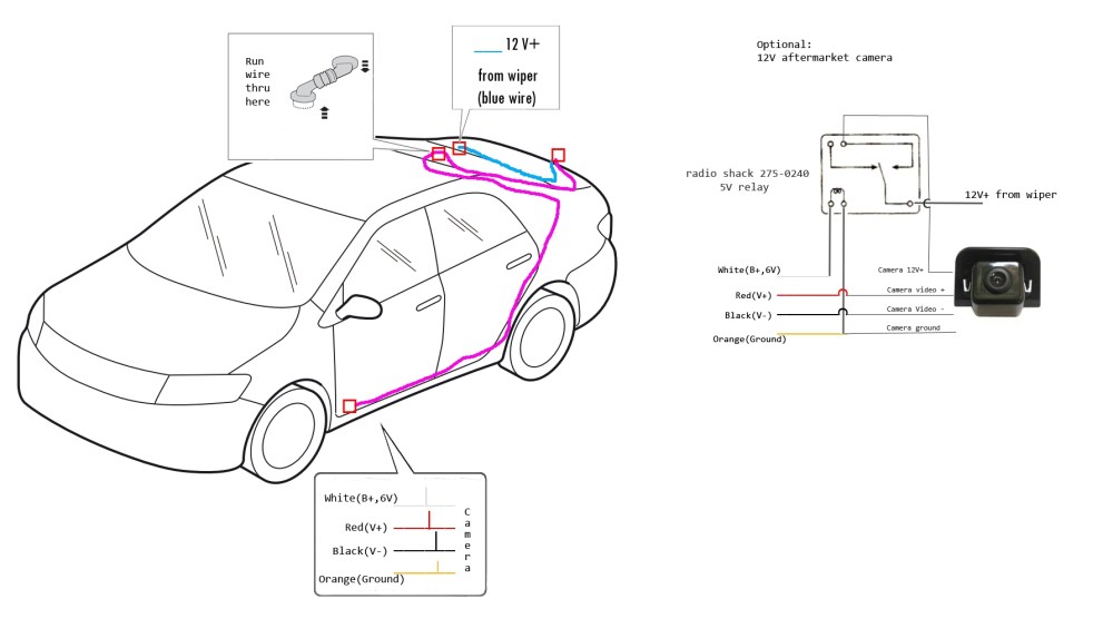 medium resolution of toyota tundra backup camera wiring diagram