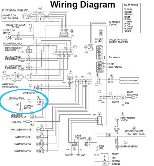 small resolution of hot water heating system wiring schematic