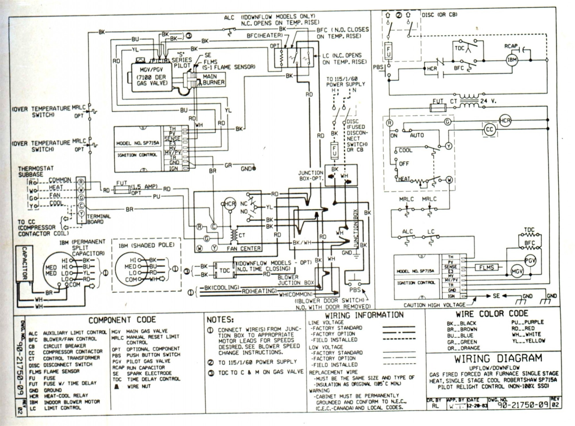 hight resolution of intertherm wiring schematic wiring diagram intertherm diagram electric wiring furnace