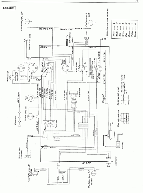 small resolution of kubota ignition switch wiring diagram