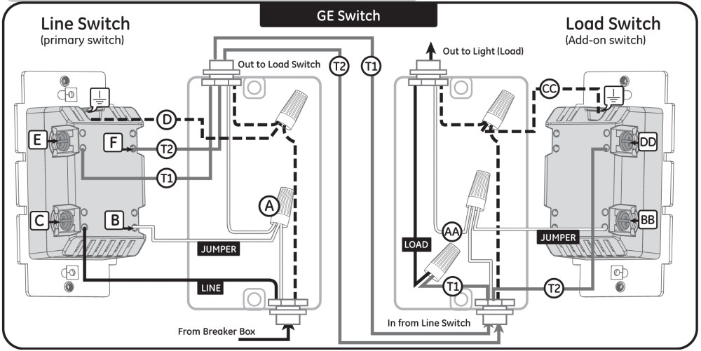medium resolution of ge dimmer switch wiring wiring diagram database 3 way switch wiring diagram adding schematic