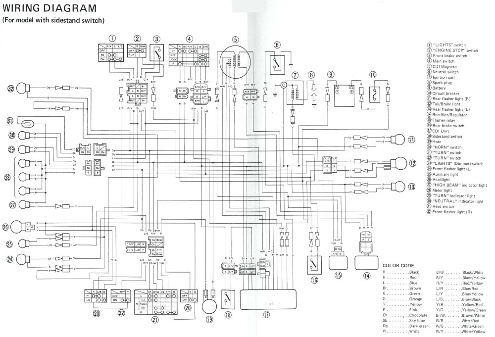 medium resolution of yamaha 703 remote control wiring diagram