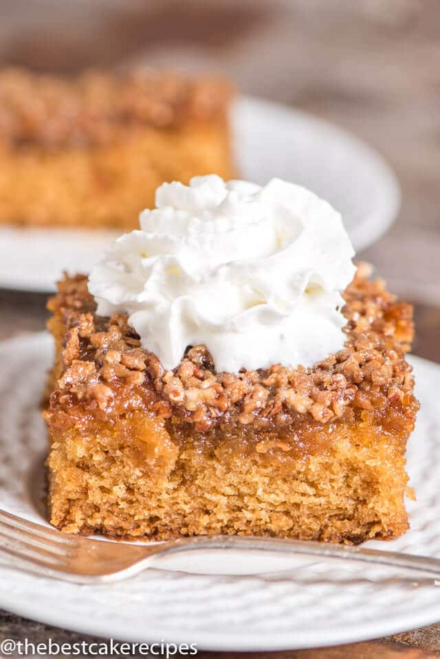 Amish Cake Easy 9x13 Cake Recipe With Butter Amp Nut Topping