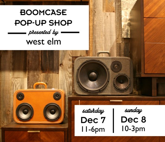 West Elm x BoomCase Store  The BoomCase