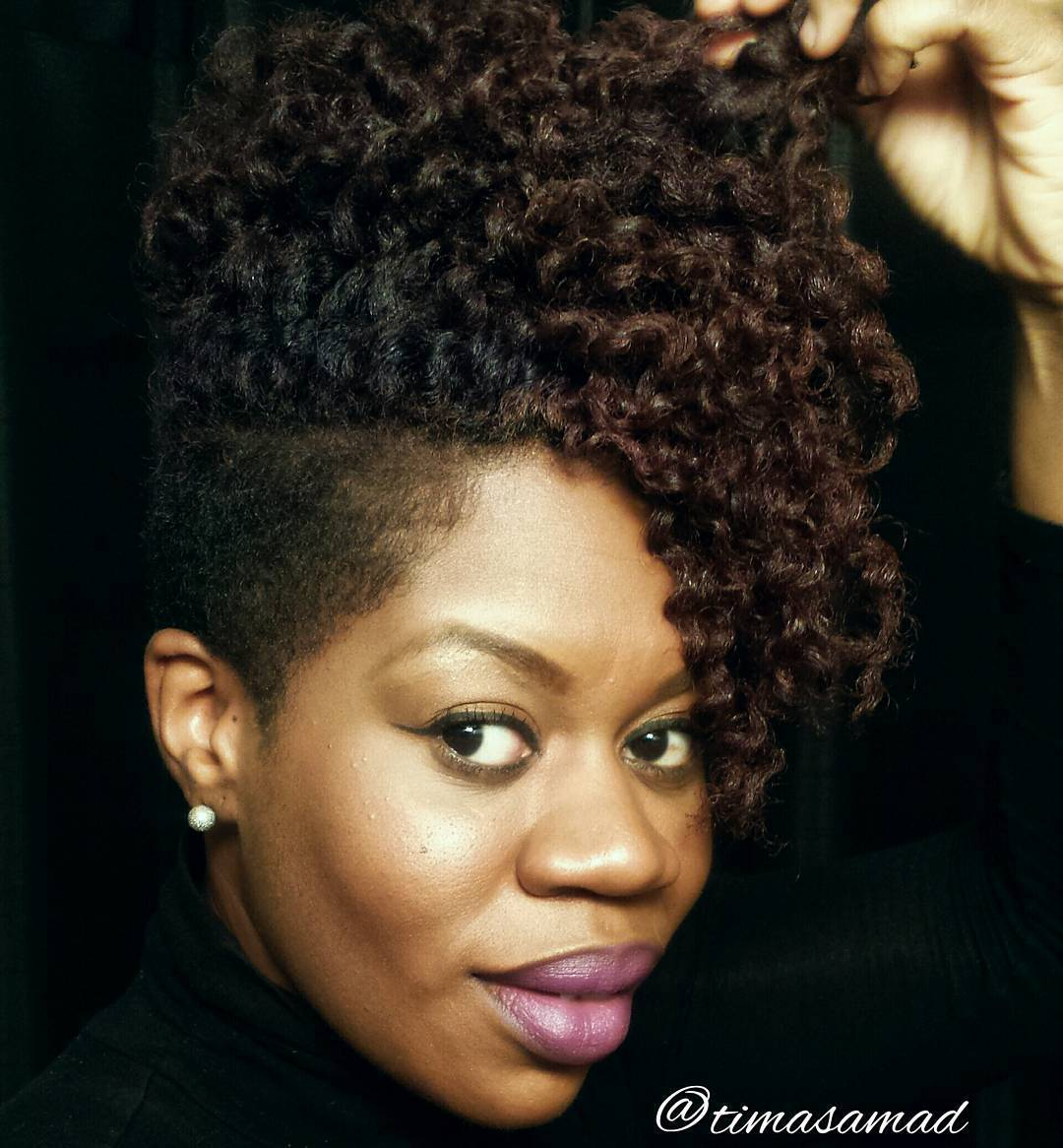 African American Natural Hairstyles for Short Hair