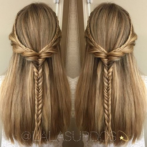 Updates On 2017 Half Up Half Down Hairstyles Latest Ideas And Trends