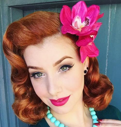 40 pin up hairstyles