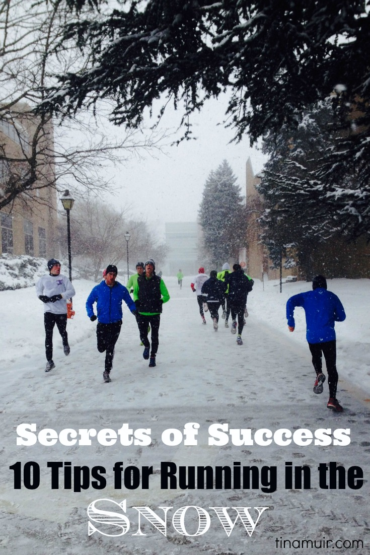 Elite runner tina muir shares another secret of success how to run in the snow also winter running gear what wear at every temperature  for rh tinamuir