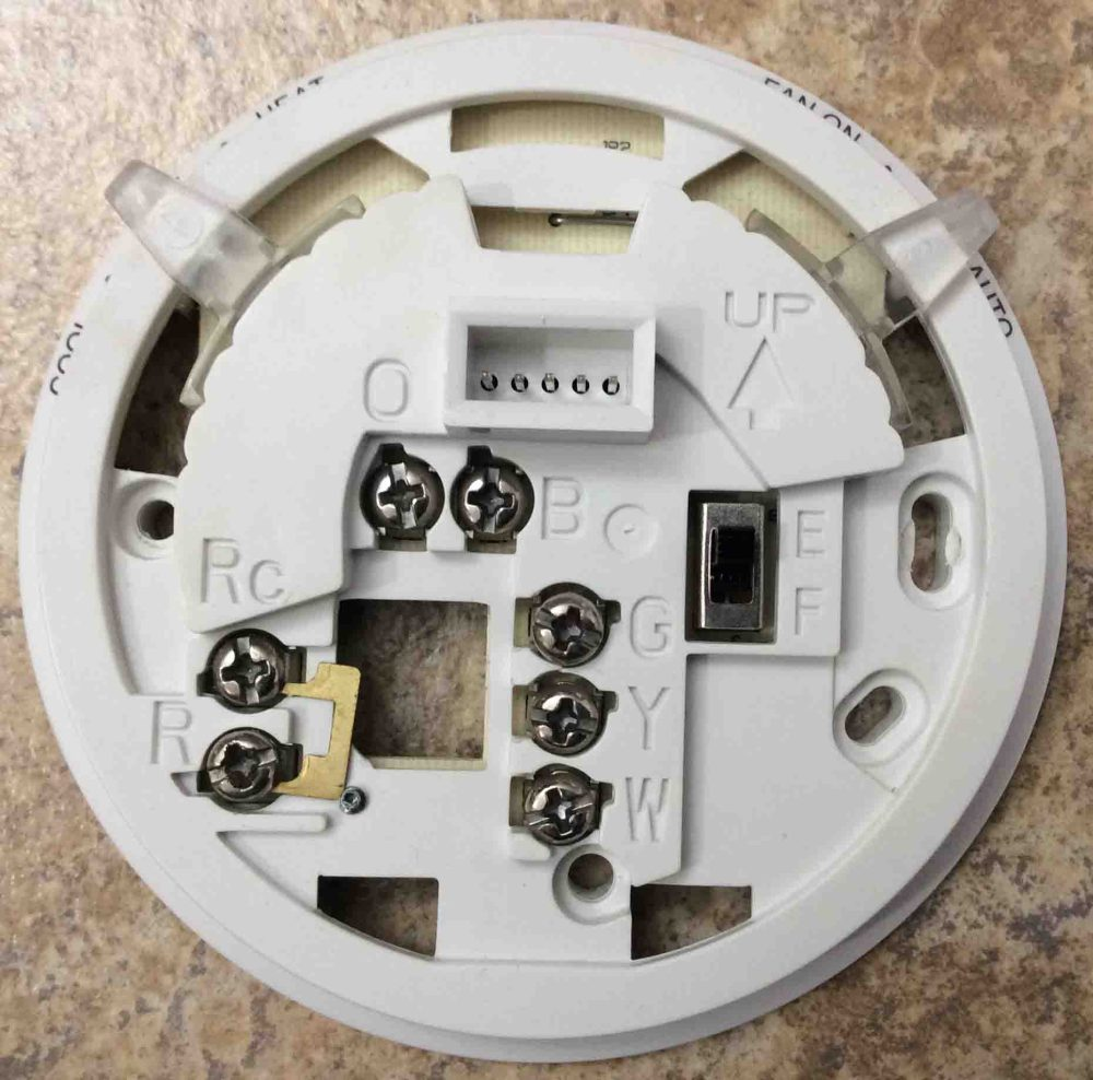 medium resolution of how to wire a honeywell thermostat with 4 wires tom s tek stop toms water pump wiring diagram