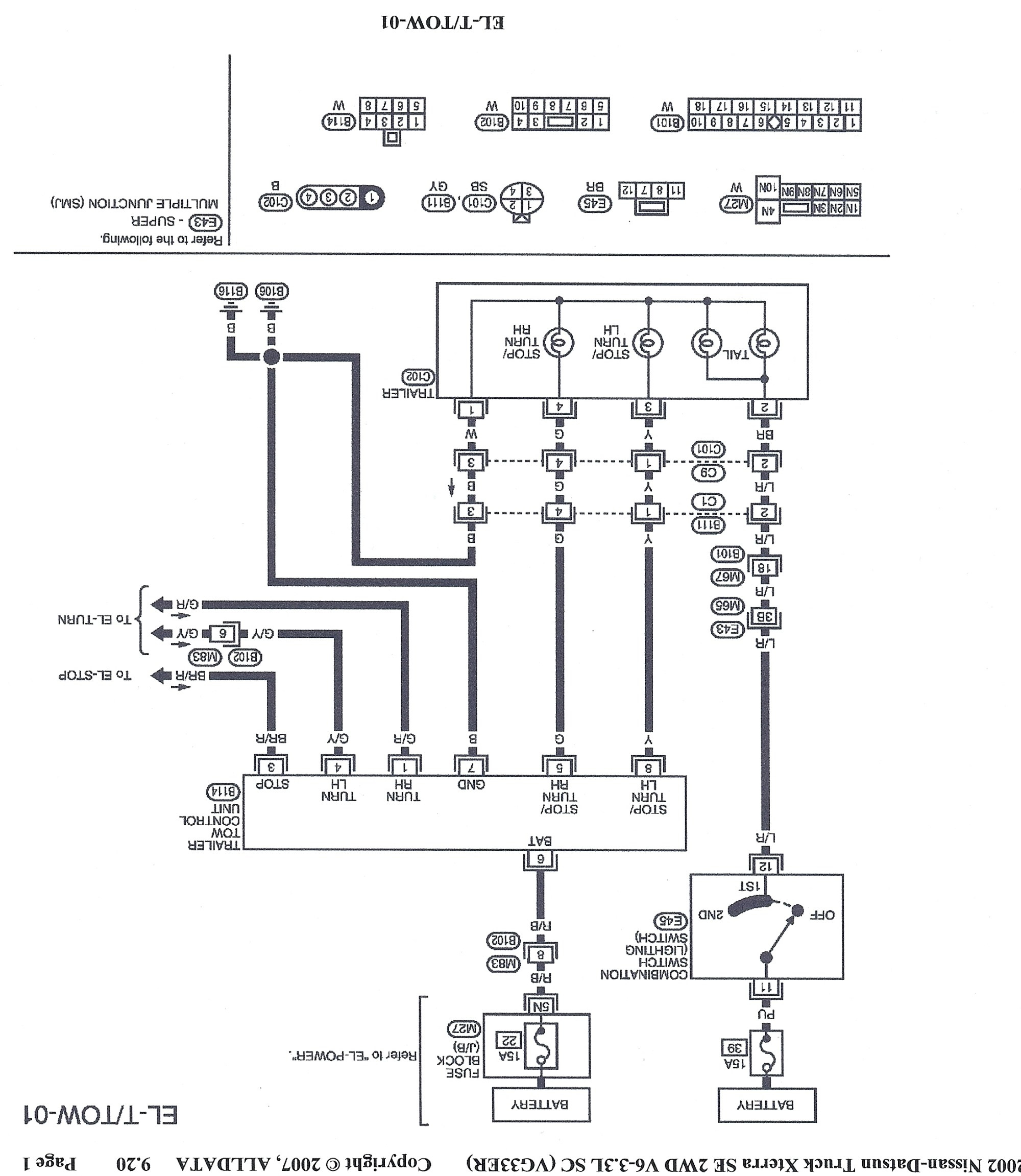 hight resolution of xterra trailer wiring diagram use wiring diagram nissan xterra trailer wiring diagram xterra trailer wiring diagram