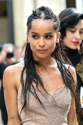 Zoe Kravitz and The Goddess Box Braids Trend  Unruly
