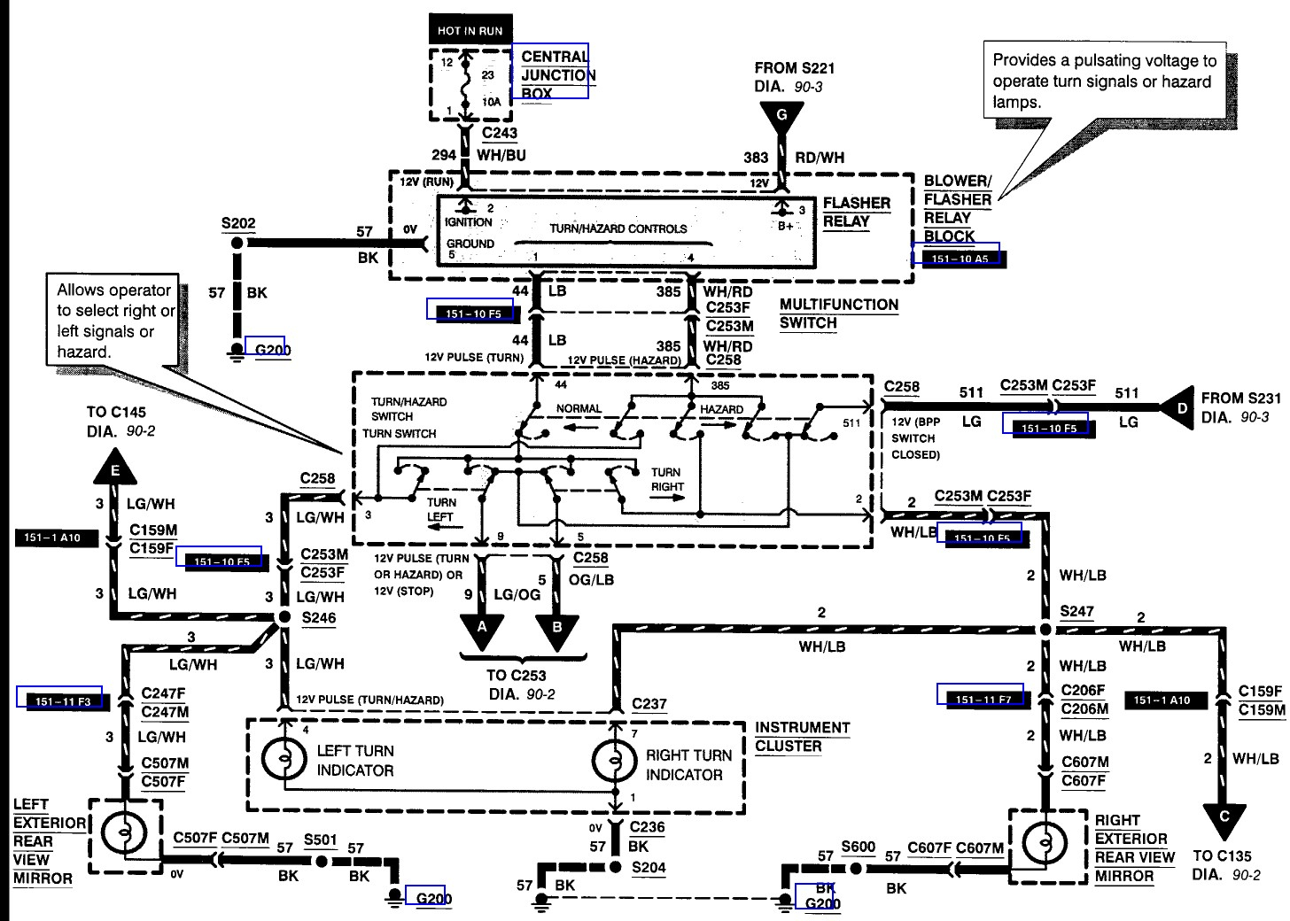 hight resolution of 1999 ford f 250 power mirror wiring diagram