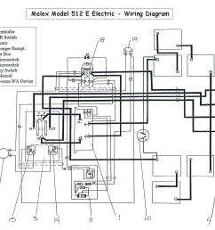 vintage ezgo wiring diagrams wiring diagram view ps golf cart wiring diagram [ 1430 x 1200 Pixel ]