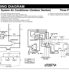 residential air conditioner wiring diagram sample [ 1600 x 1236 Pixel ]
