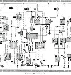 1992 saab 900 wiring harness wiring diagram expertsaab 900 wiring harness wiring diagrams favorites 1992 saab [ 2709 x 2061 Pixel ]